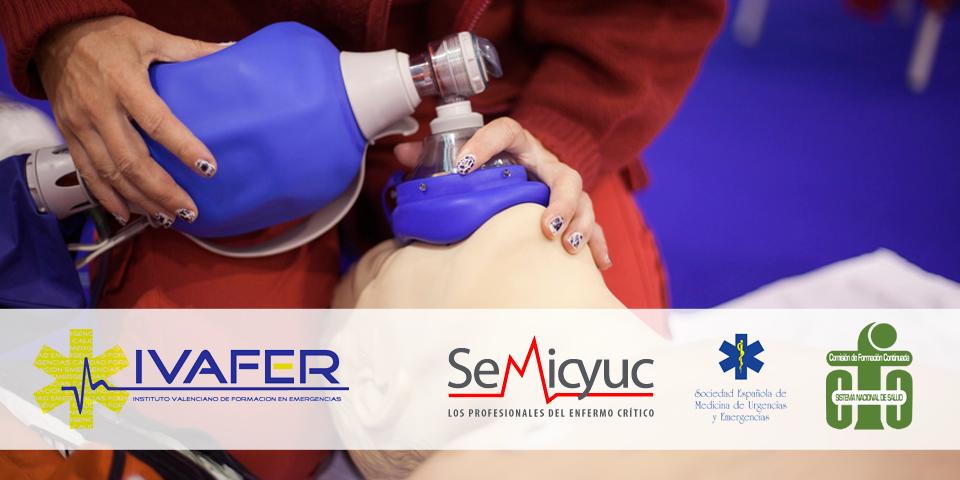7ª Ed. Curso de Resucitación Cardiopulmonar y Soporte Vital Avanzado en Medicina y Enfermeria de Urgencias (PNRCP)